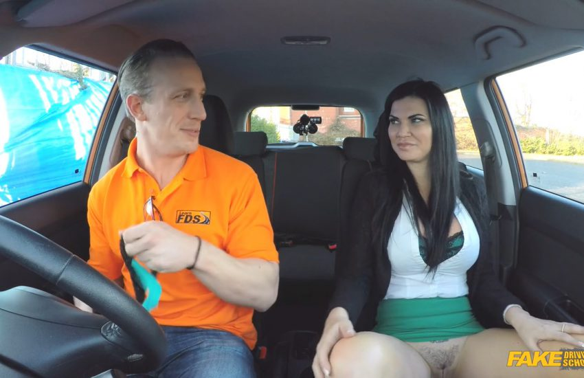 Choosing A Role In The Fake Driving School - Public Domain Flicks